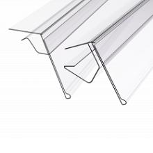 Ценникодержатели для стеклянных и деревянных полок